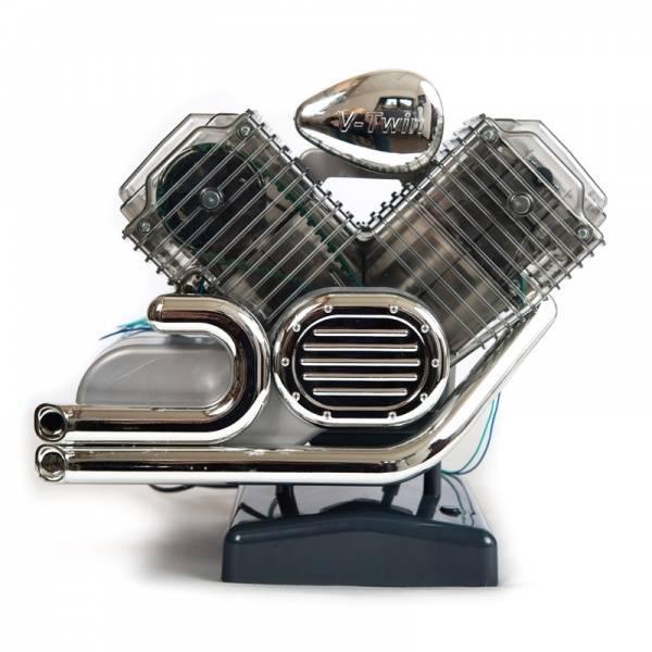 Haynes V Twin Motorsykkel Motor Byggesett