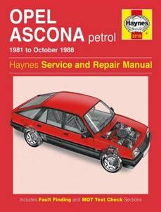 Bilde av Opel Ascona Petrol (81 - 88)