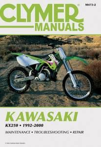 Bilde av Clymer Manuals Kawasaki KX250