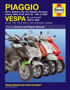 Bilde av Piaggio (Vespa) Scooters (91-09)