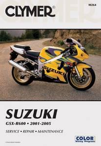 Bilde av Clymer Manuals Suzuki GSX-R600