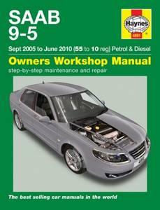 Bilde av Haynes verkstedhåndbok: Saab 9-5