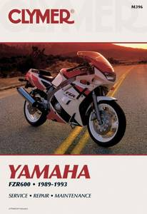 Bilde av Clymer Manuals Yamaha FZR600