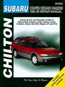 Bilde av Subaru reparasjonshåndbok