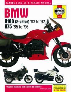 Bilde av BMW K100 and 75 2-valve Models