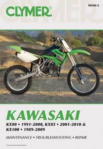 Bilde av Clymer Manuals Kawasaki KX80,