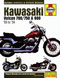 Bilde av Kawasaki Vulcan 700/750 and 800