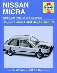 Bilde av Haynes, Nissan Micra (83 - Jan