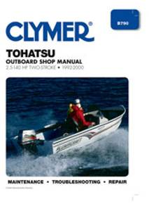 Bilde av Clymer Manuals Tohatsu 2.5-140