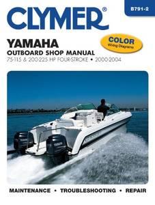 Bilde av Clymer Manuals Yamaha 75-115
