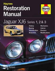 Bilde av Jaguar XJ6 Haynes Restoration