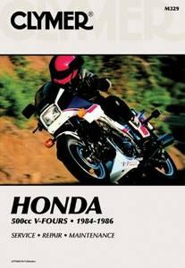 Bilde av Clymer Manuals Honda 500cc