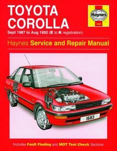 Bilde av Toyota Corolla (Sept 87 - Aug