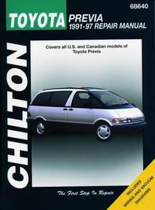 Bilde av Toyota Previa (91 - 97), Chilton