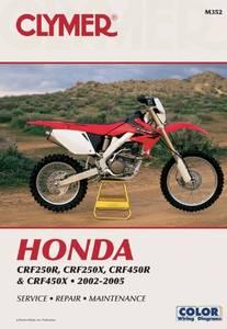 Bilde av Clymer Manuals Honda CRF250R,
